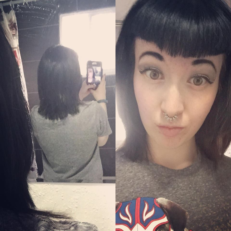 How To Ask Your Stylist For A Middy Cut Miss Vannah Strange Life