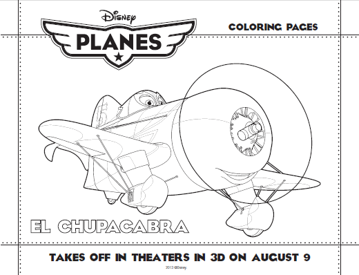 How About Some Coloring Fun To Tide The Kids Over Until Movie Hits Theaters August 9th We Have FREE Disney Planes Printable Sheets For You