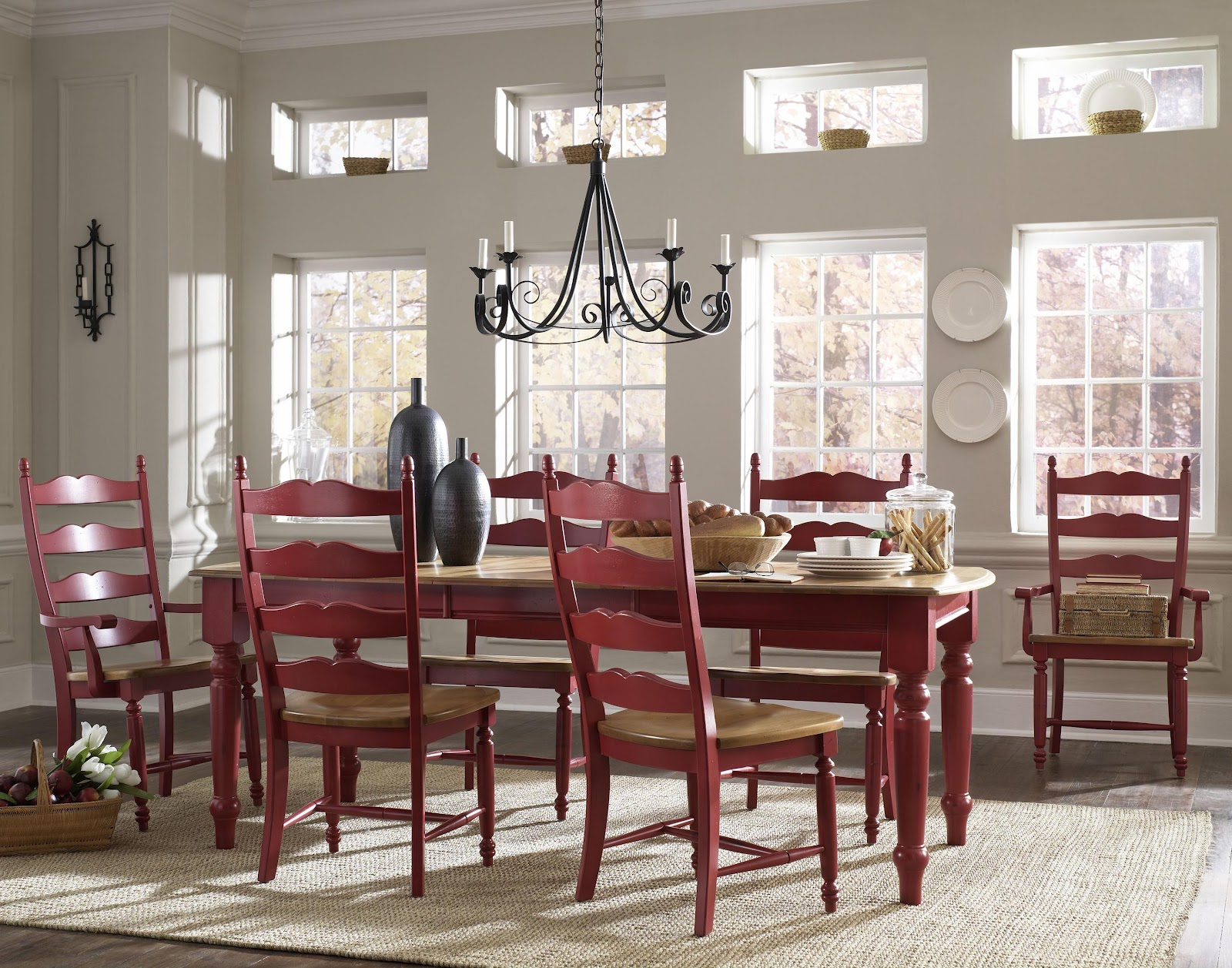 Canadel dining room sets new york dining room unique for Country style dining room sets