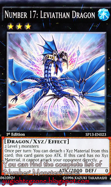 Numero 17: Drago Leviatano - Number 17: Leviathan Dragon No.ナンバーズ17 リバイス・ドラゴン