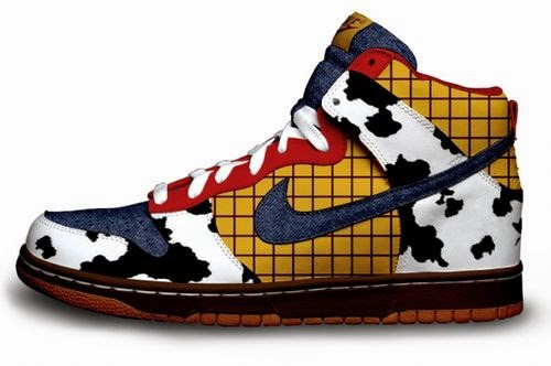 Unique Designs Painted On Nike Shoes By Daniel Reese