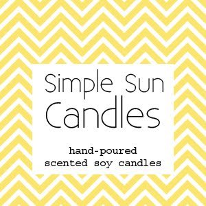 Simple Sun Candles