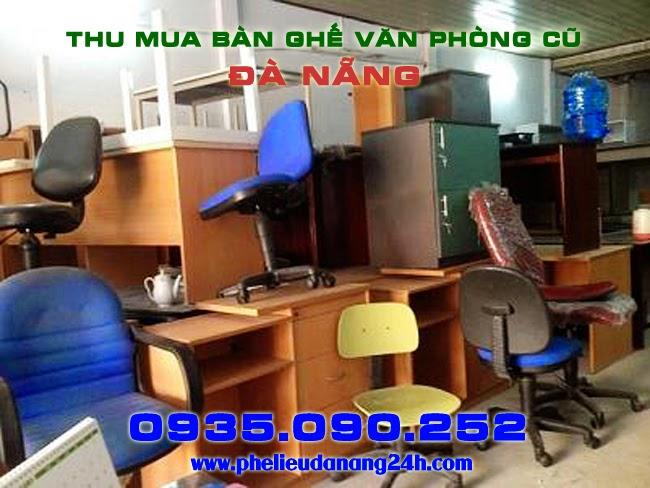 Nhận thu mua thanh lý bàn ghế văn phòng cũ tại Đà Nẵng