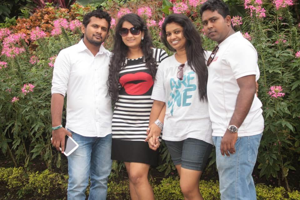 madhu nithyani at royal botanical gardens peradeniya