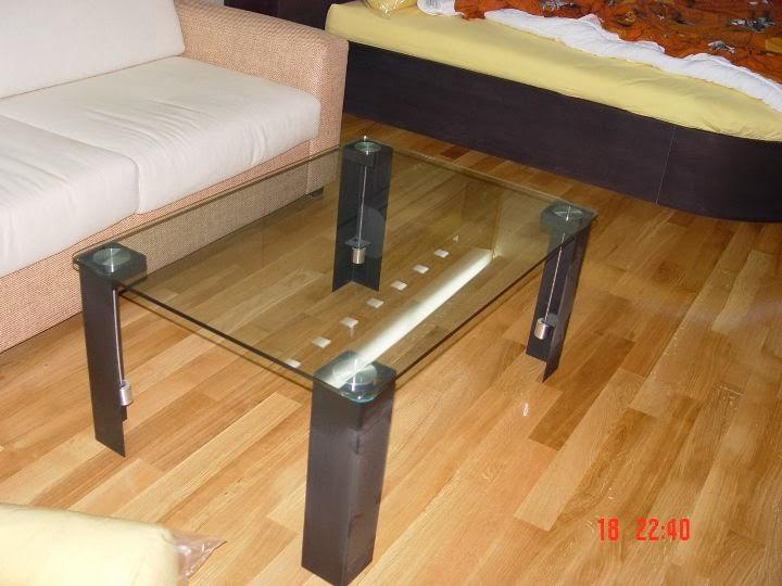 Маса изработка метал и стъкло