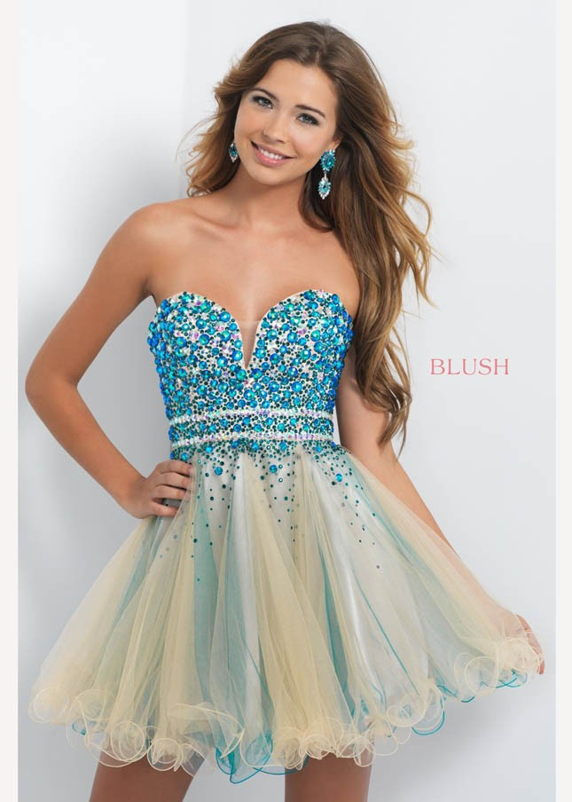 Short Prom Dress Too