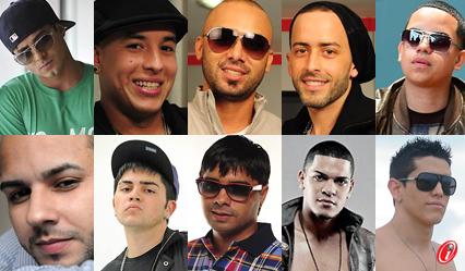Reguetoneros de todo el mundo, regueton, musica, look, baile, cantantes