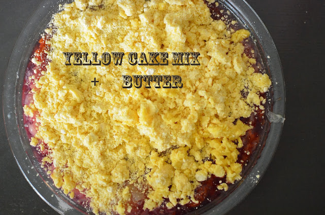 How to Make a Brown_Betty Cobbler from Cake Mix