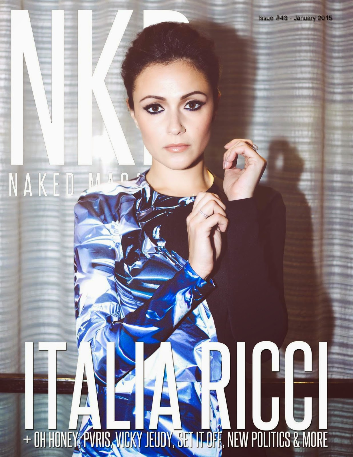 Italia Ricci - NKD Magazine, January 2015