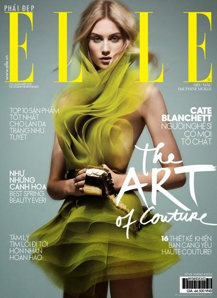 Alexandre Vauthier Couture Spring 2014 Little Mesh Green Dress