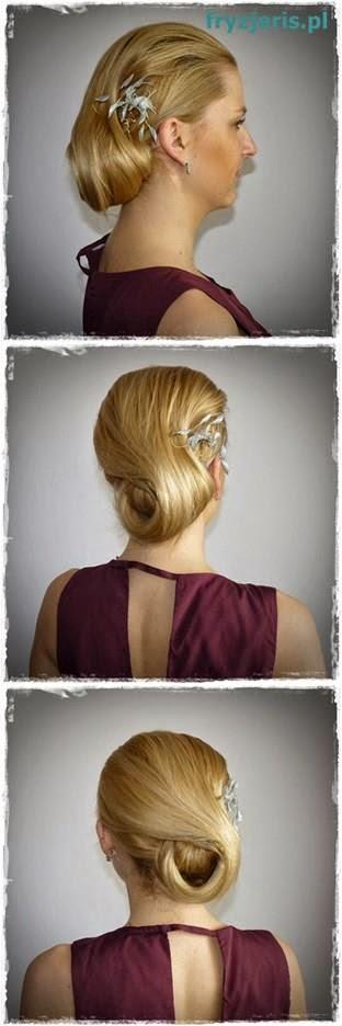 fryzura ślubna 58