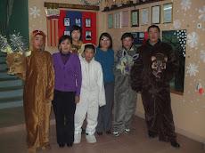 шинэ жилийн амьтдын хувцас хийлээ
