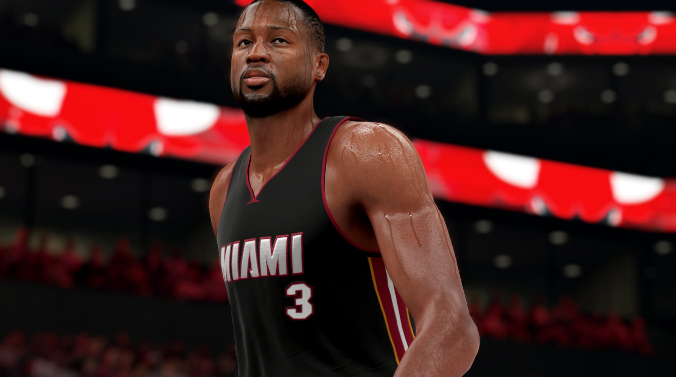 NBA 2k16 Screenshot - Dwyane Wade Miami Heat