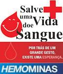 Um doador salvou minha vida.