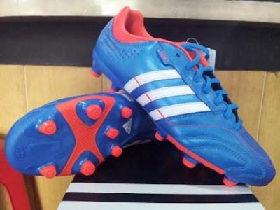 jual sepatu bola original sepatu bola adidas 11nova trx blue white