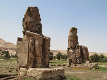 Colossi at Memnon, West Valley of West Bank, Luxor, Egypt