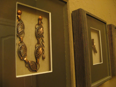 Shadow Box Copper Jewelry