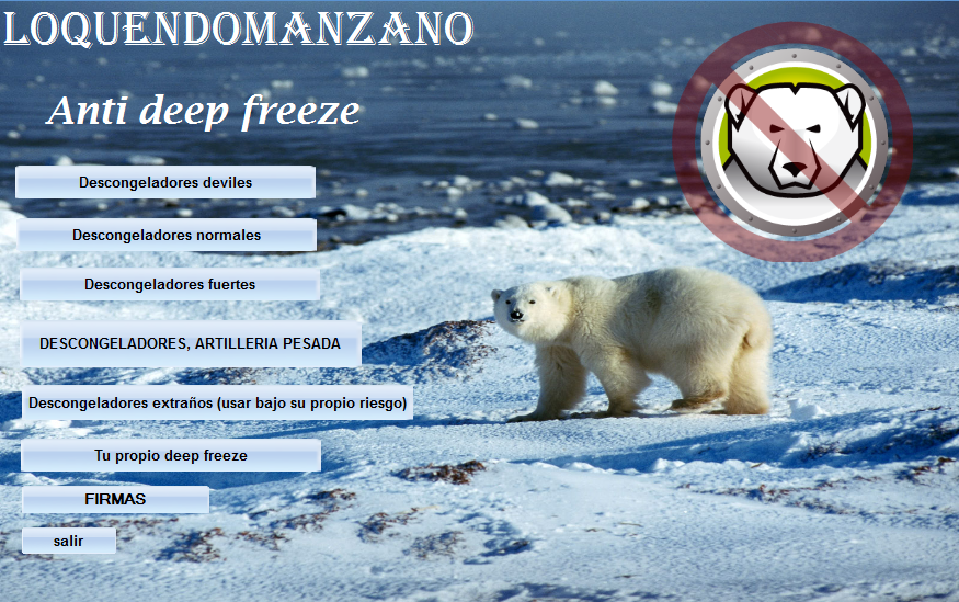 eliminar desactivar deep freeze sin contraseña