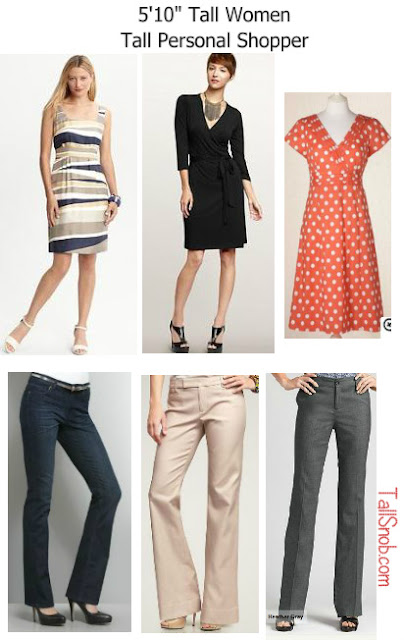 women's tall personal shopper tall dresses and tall pants