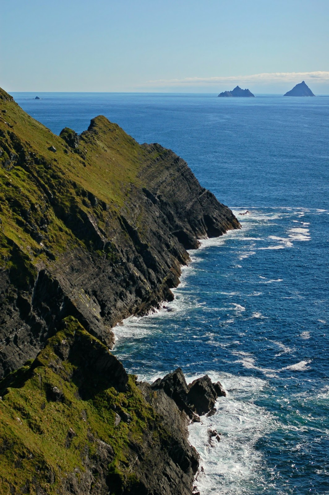 skellig cliffs, kerry