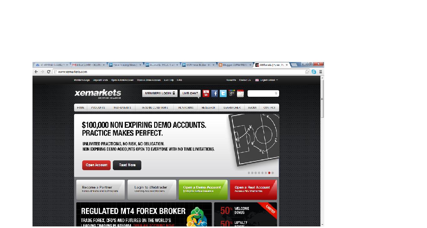 Xe forex broker