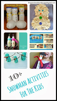 10+ Snowman Activities For The Kids by FSPDT