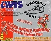 babbo natale running