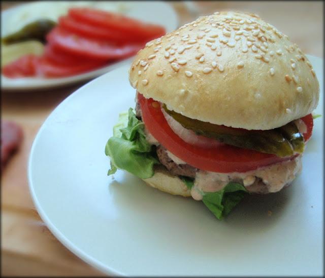 jak zrobić hamburgera, przepis na hamburgera