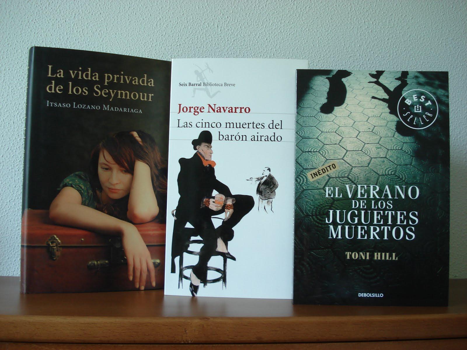 1 mes de libros: agosto   Carmen y amig@s