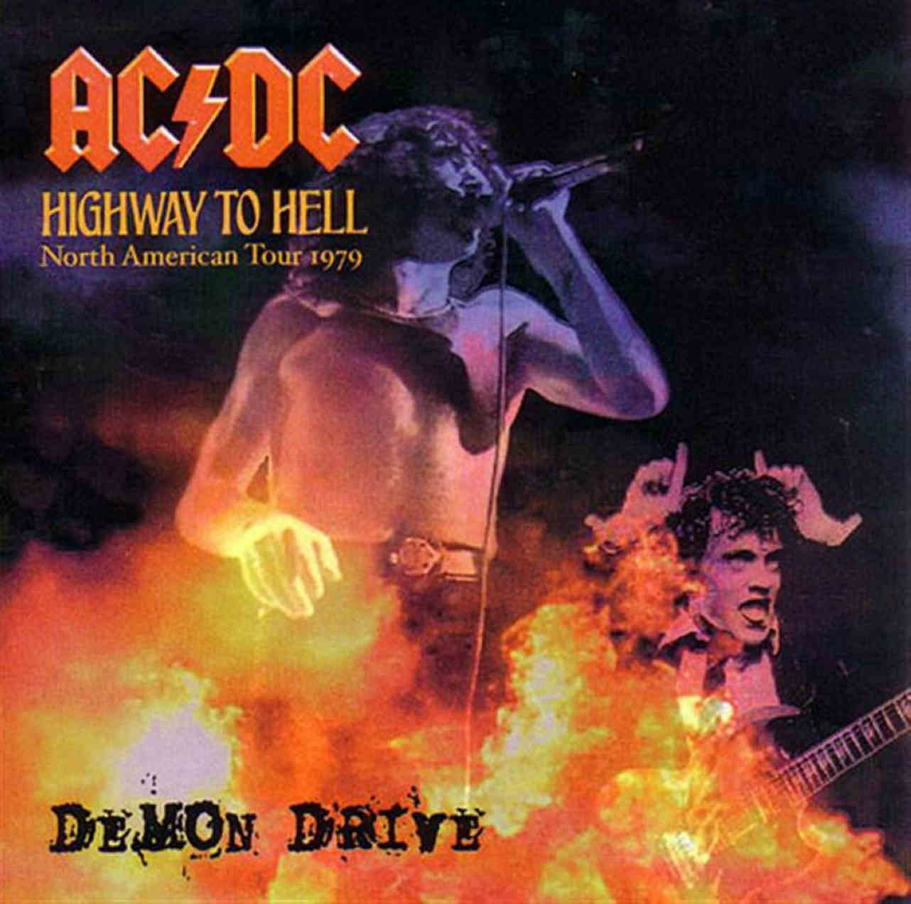 AC/DC - Rocker In Flames