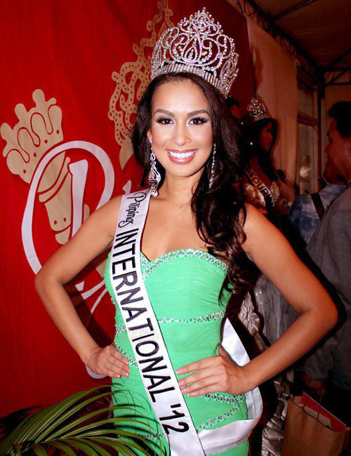 Nicole Schmitz,Miss International Philippines 2012
