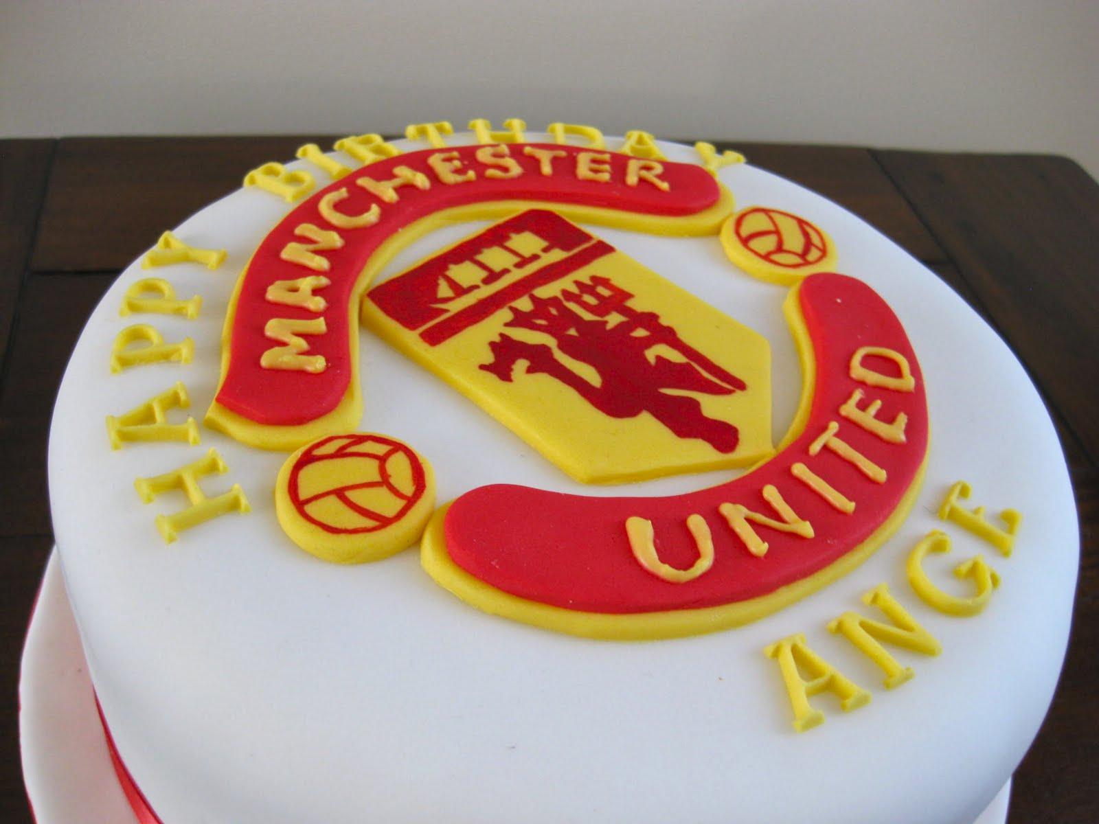 Manchester United Badge Cake Boutique Cake Shop