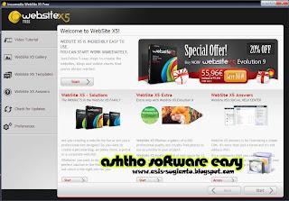 WebSite X5 9 Free