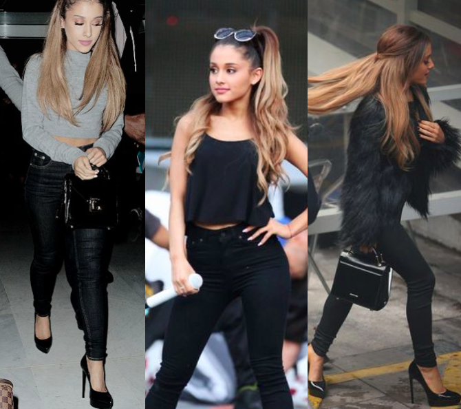 Pugs Pearls And Pancakes 3 Ariana Grande Outfits You Can Steal With The Same Pair Of Jeans