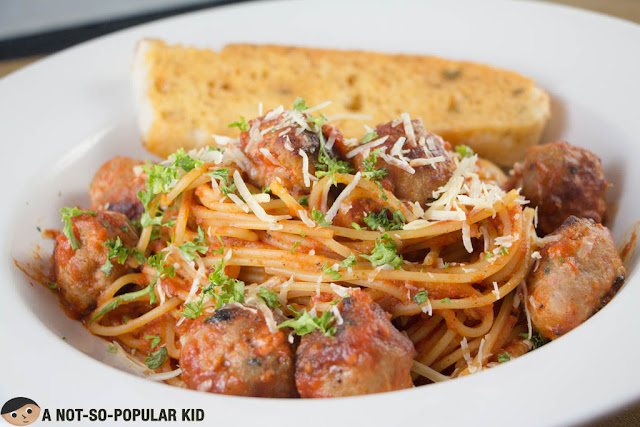 Spaghetti Con Polpette (Meatballs)