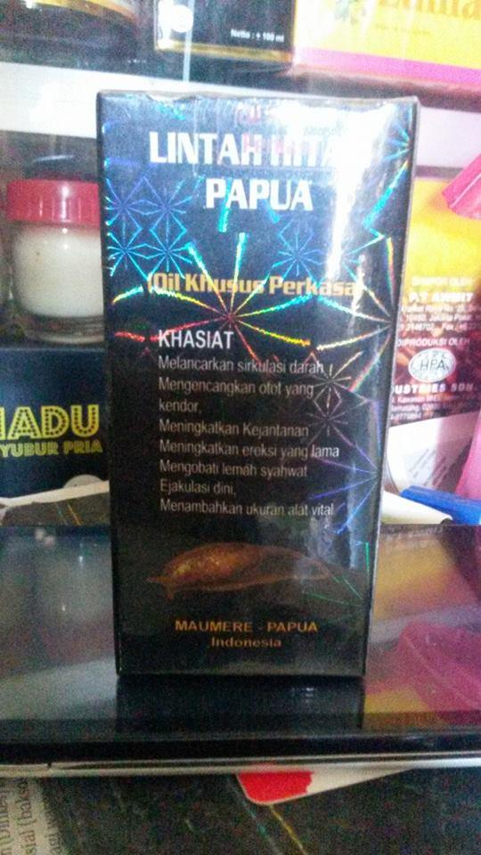 minyak lintah hitam papua