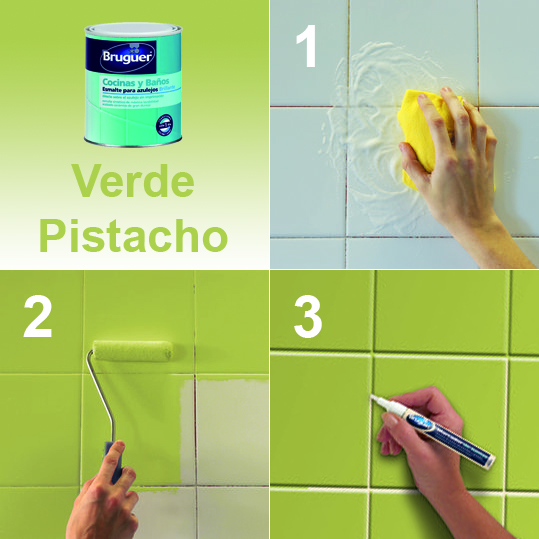 Mundocolor bruguer esmalte de azulejos - Esmaltes para azulejos ...