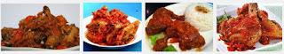Cara Penyajian Ayam Goreng Balado