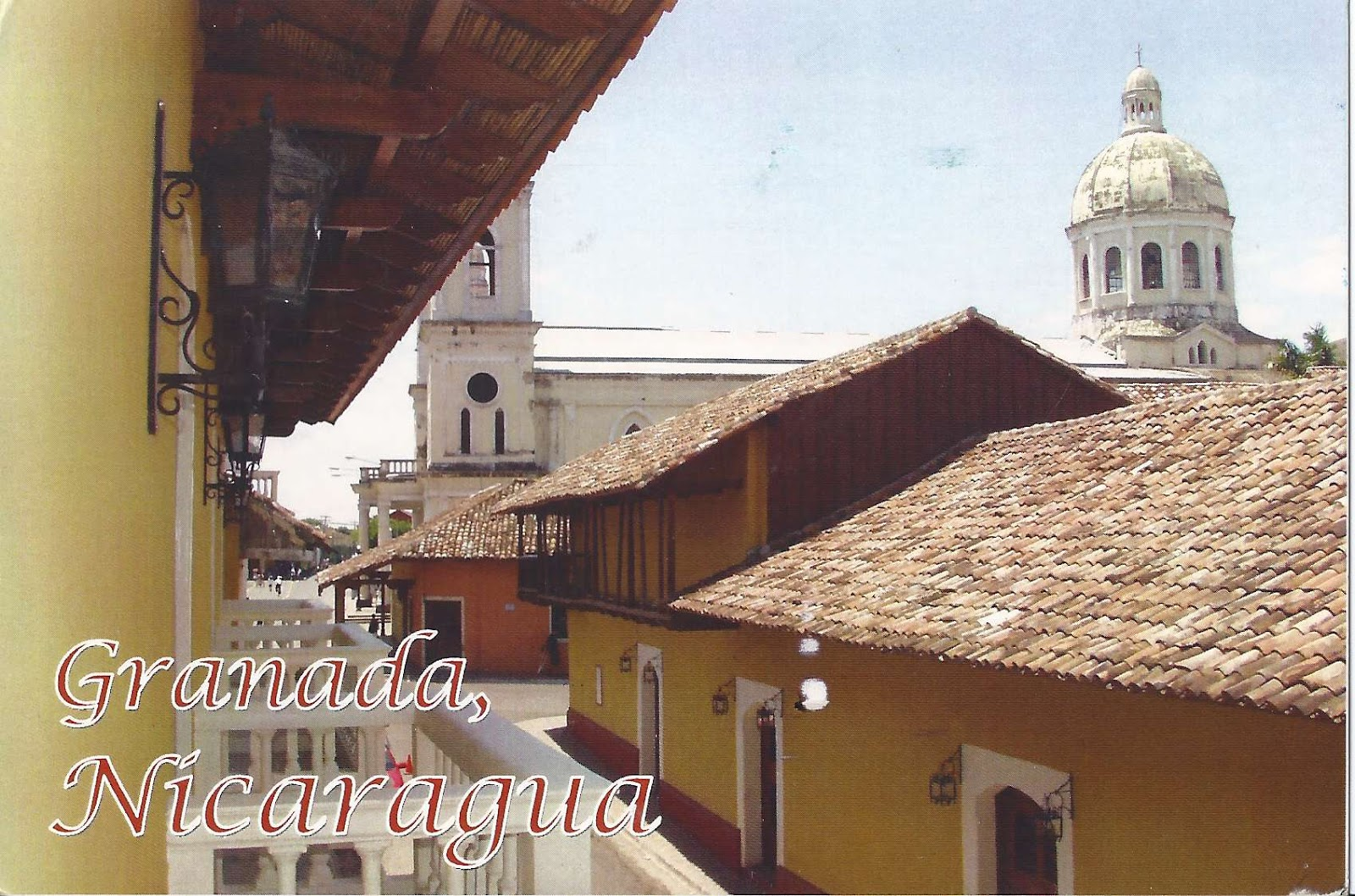 A Journey Of Postcards The Oldest City In Central America