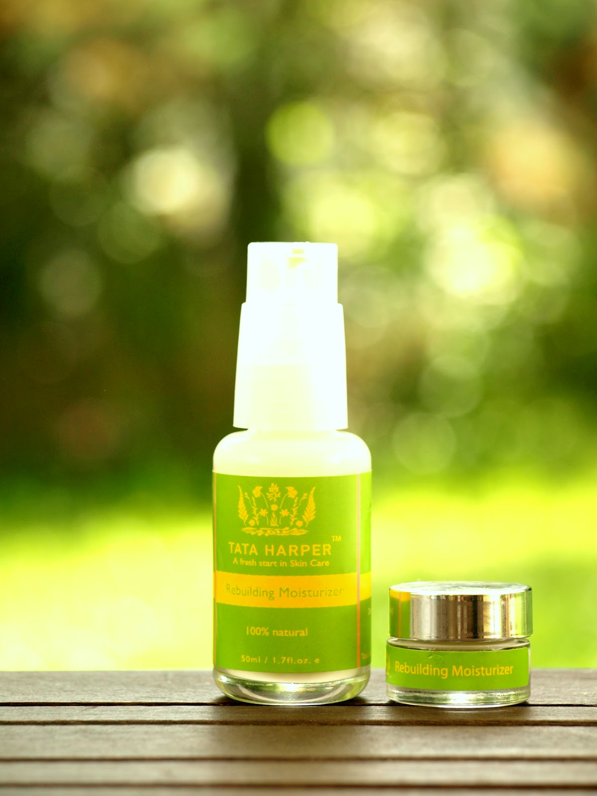 Tata Harper moisterizer, Organic skincare