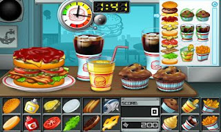 Screenshots of the Burger the Tasty Burger Game for Android tablet, phone.