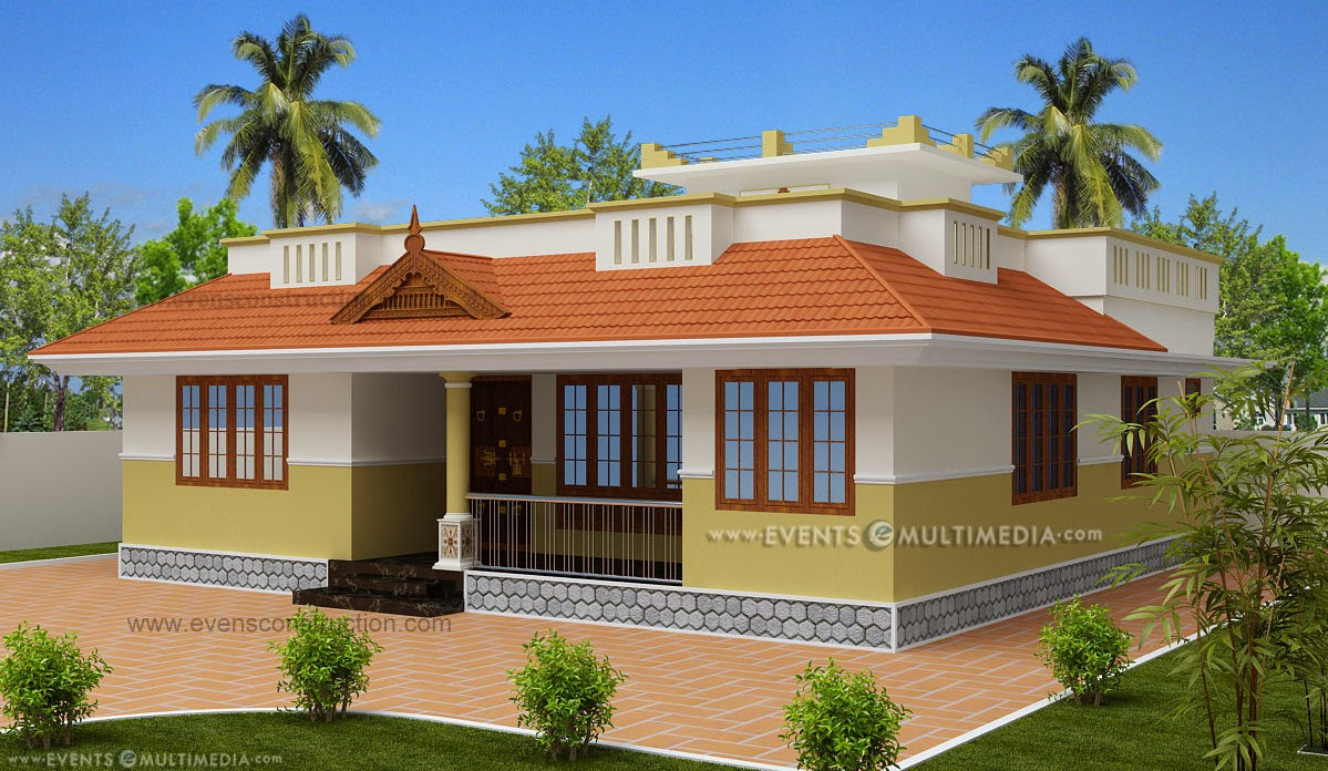 Evens construction pvt ltd small kerala house Good house designs in india