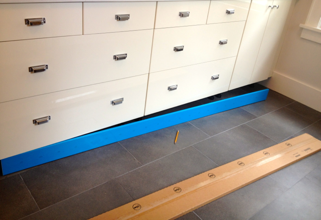 Heidi's Mix: Kickplates And Baseboards