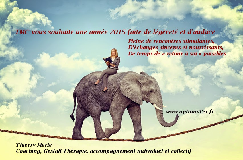 TMC vous souhaite une année 2015 faite de légèreté et d'audace