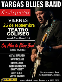 Vargas Blues Band en Argentina