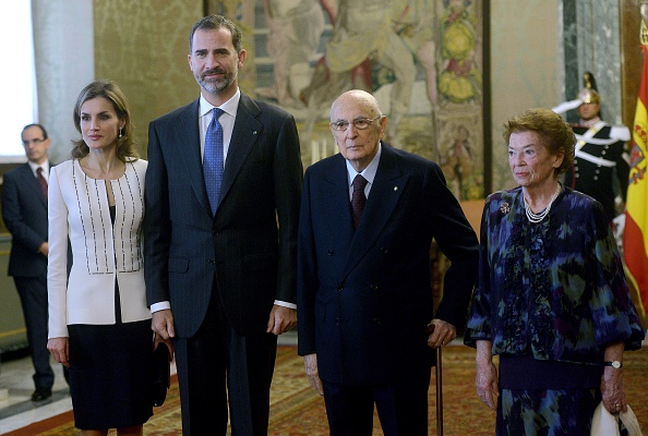 King Felipe and Queen Letizia visits the Italy
