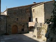 La façana nord del mas Barnils