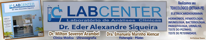 LABORATÓRIO DE ANÁLISES CLINICAS LABCENTER
