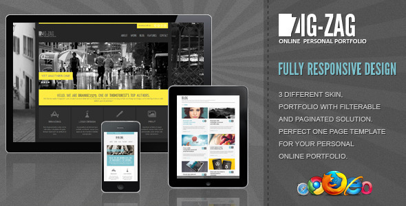 Zig Zag WordPress Theme Free Download by ThemeForest.