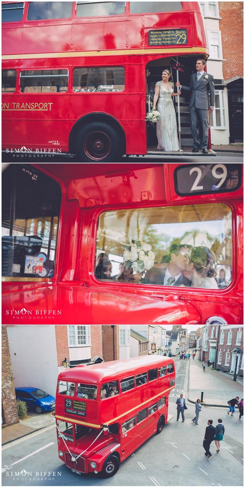 Routemaster wedding poole